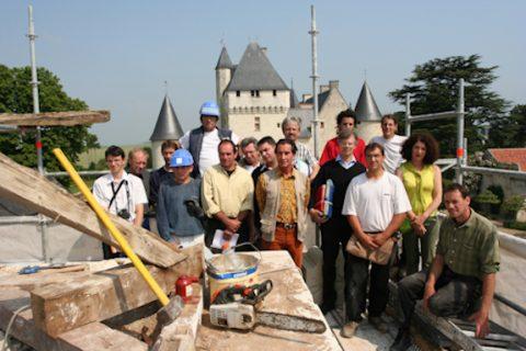 renovation chateau