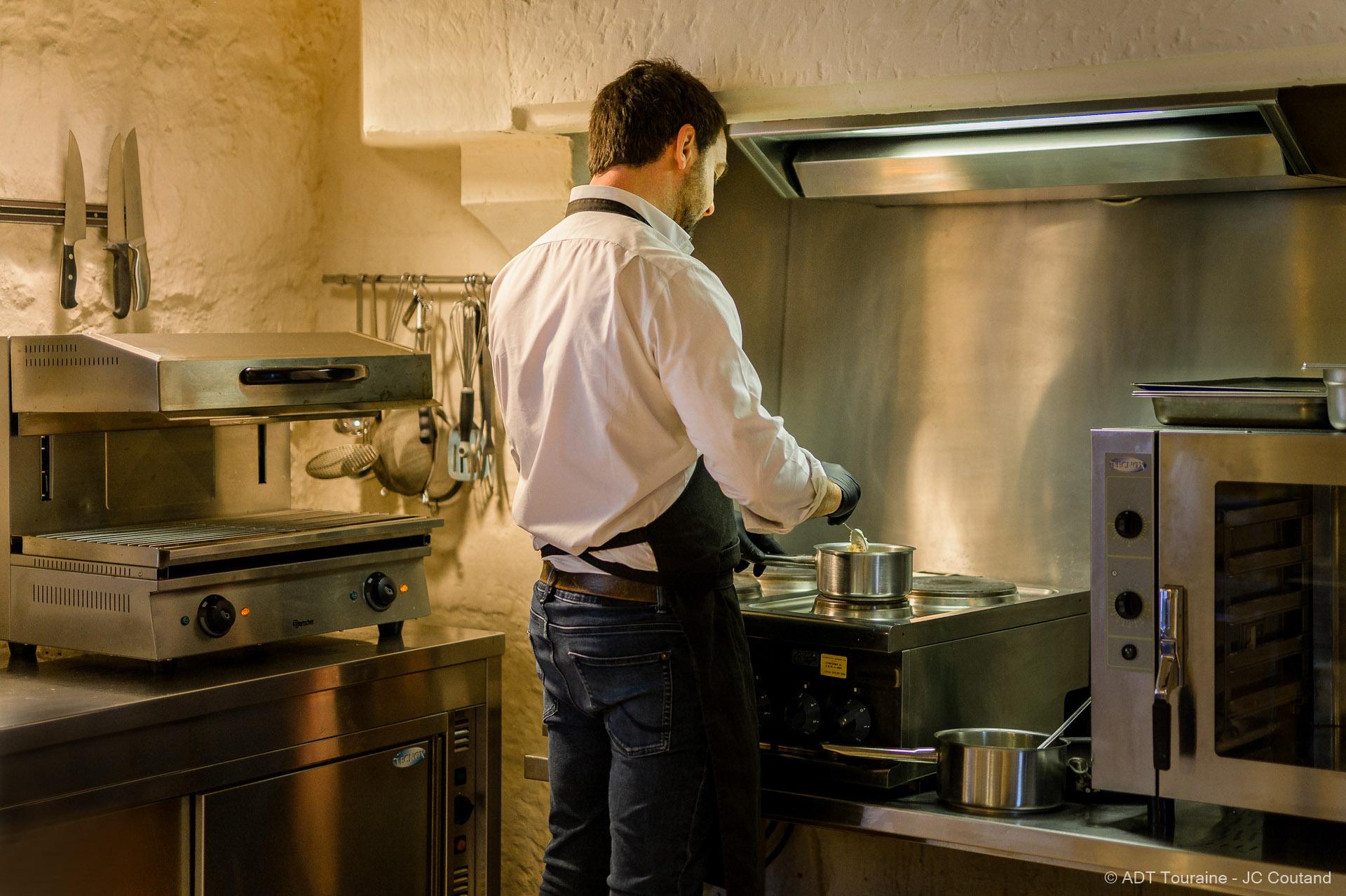 cours de cuisine au chateau